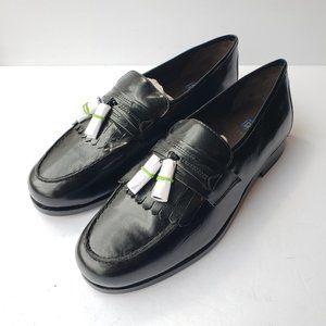 NWOB Nunn Bush tassel leather dress shoe loafers